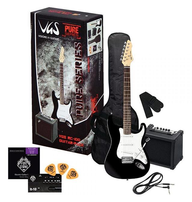 Komplet z električno kitaro VGS RC-100