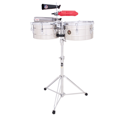 Timbale Tito Puente Stainless Steel Latin Percussion