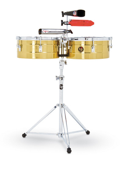 Timbale Tito Puente Solid Brass Latin Percussion