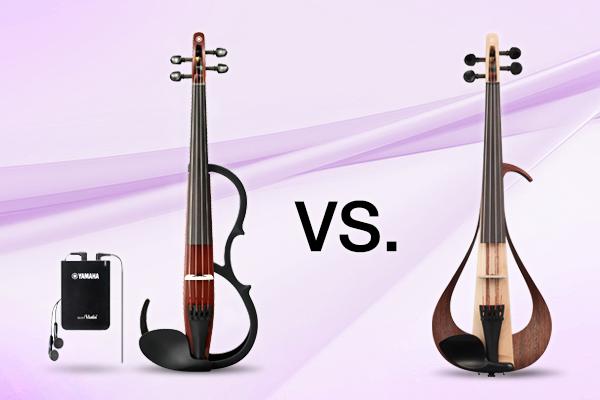 Tiha violina in električna violina
