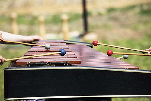 Marimba in ksilofon