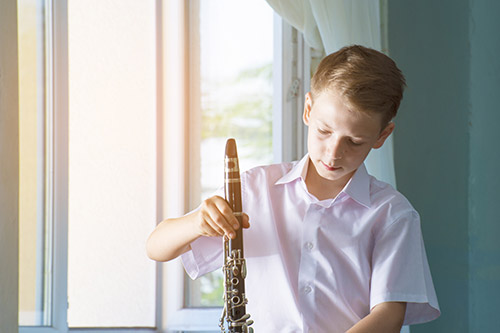 Popravilo klarineta