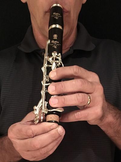 Preizkus tlaka klarineta