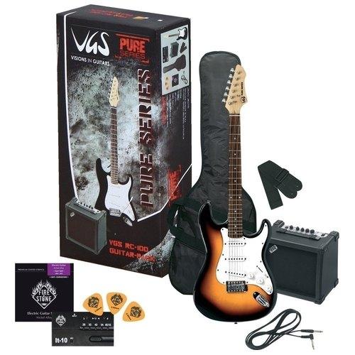 Kitarski set: električna kitara VGS RC-100 GEWApure