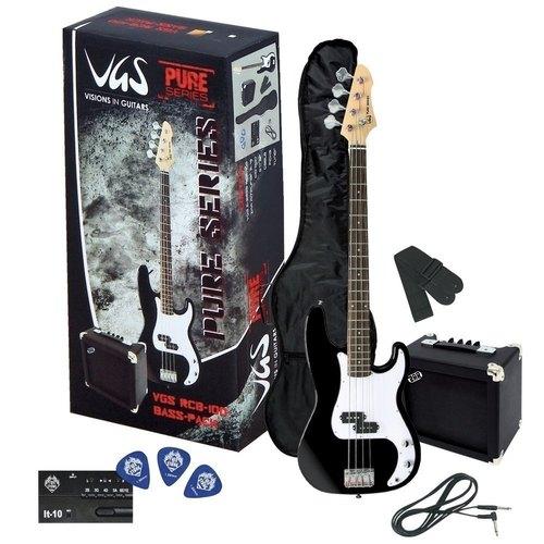 Kitarski set: električna bas kitara VGS RCB-100 GEWApure