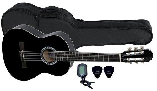 Kitarski set: koncertna kitara 3/4 s torbo, uglaševalcem in drsalicami VGS Basic GEWApure