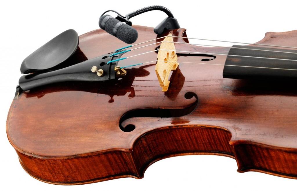 Mikrofon za violino 4099 znamke DPA d:vote™