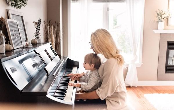 Igranje in učenje klavirja