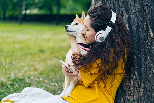 Domači ljubljenčki in glasba