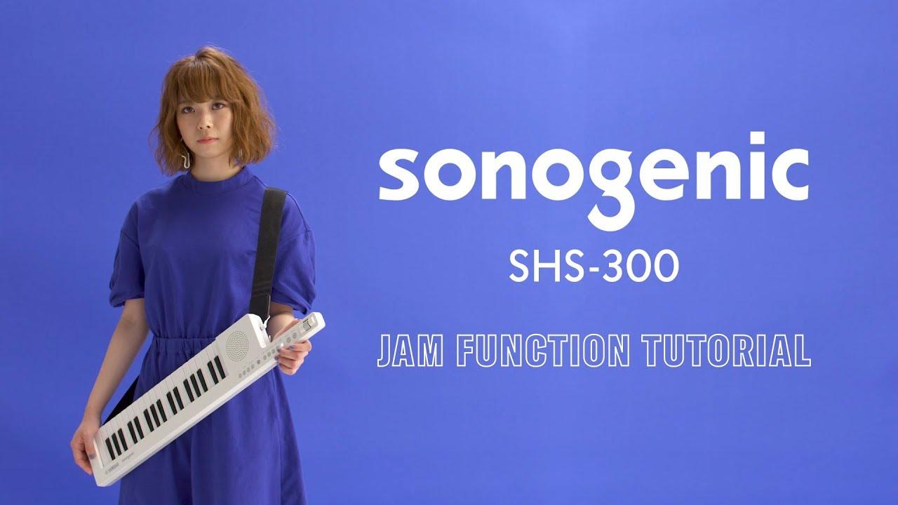 Funkcija JAM na Sonogenic SHS-300