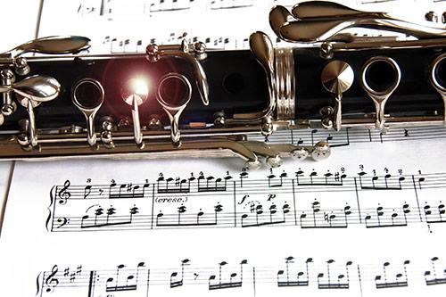 Luknjice na klarinetu