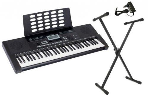 Klavirski set: električna klaviatura s stojalom in slušalkami Startone MK-200