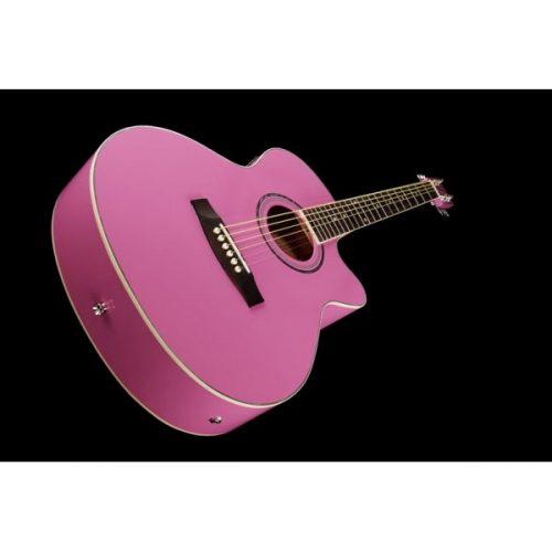 Akustična kitara EAX-10 Pinky Harley Benton