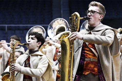 Baritonski saksofon Yamaha YBS-480
