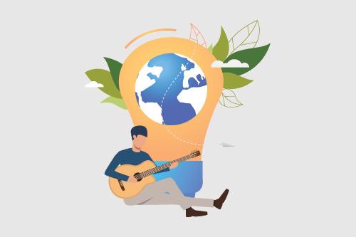 Ekološko osveščen glasbenik