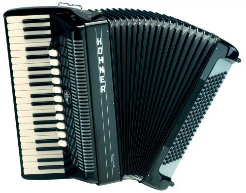 Harmonika Amica IV (120-basna s torbo) Hohner