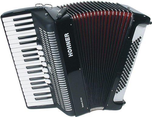Harmonika Bravo III (80-basna s torbo) Silent Key Hohner
