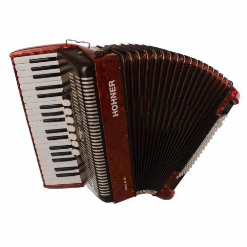 Harmonika Bravo III (96-basna s torbo) Silent Key Hohner