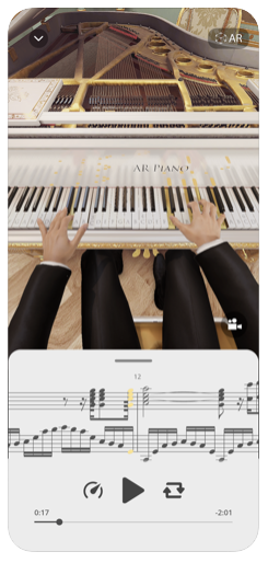 Nova izkušnja na AR Piano