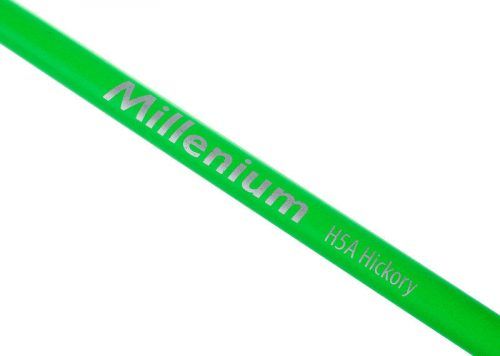 Bobnarske palice Hickory Sticks Neon Green H5A Millenium
