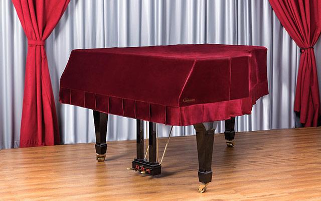 Zaščita klavirja pred prahom