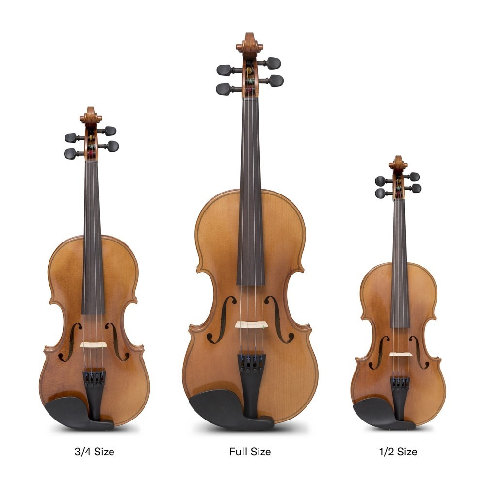 Različne velikosti violine