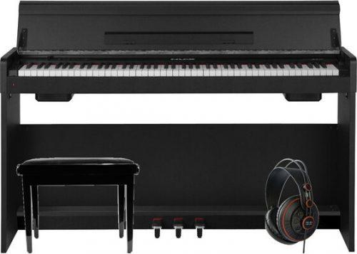 Klavirski set: električni klavir WK-310 Nux s stolom in slušalkami