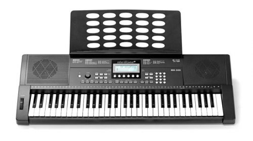 Klaviaturski set: električna klaviatura s stolom, stojalom in slušalkami Hamaril
