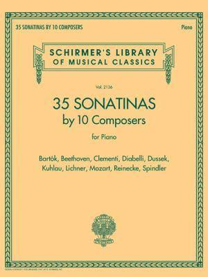 35 klavirskih sonatin desetih skladateljev