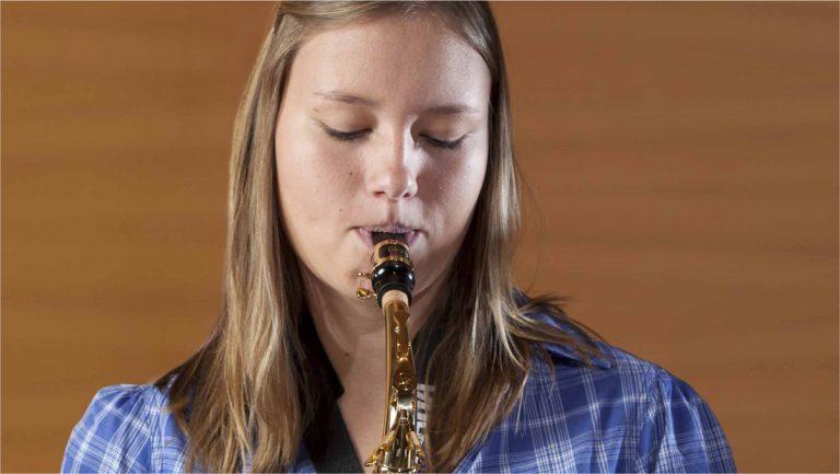 Naj vas prevzame zven saksofona
