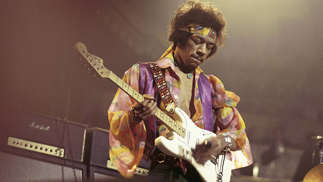 Jimi Hendrix - električna kitara Stratocaster Fender