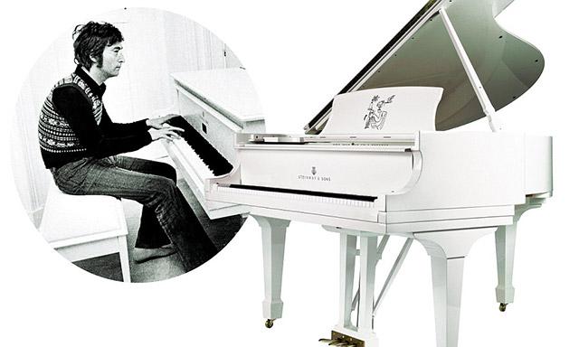 John Lennon - klavir Steinway