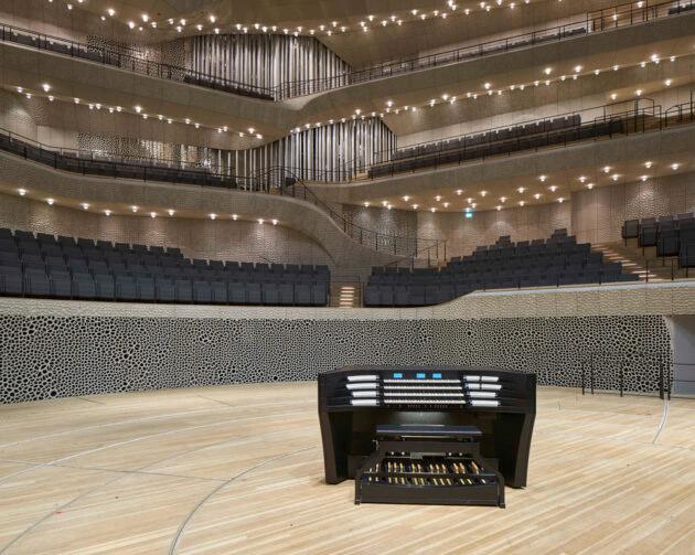 Koncertne orgle v Hamburški filharmoniji
