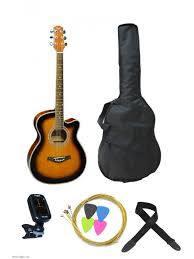Kitarski set: akustična kitara F-230 SB Flight