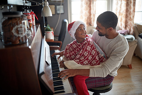 Klavir za zimske dni