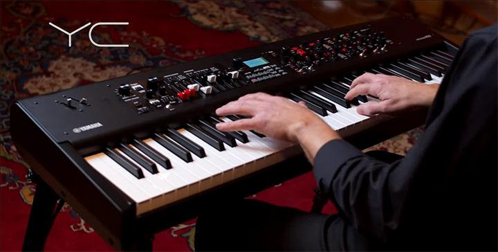Nova serija električnih klaviatur YC