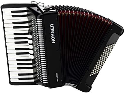 Harmonika Bravo III (72-basna s torbo) Silent Key Hohner