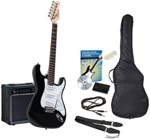 Kitarski set: električna kitara z ojačevalcem Axman