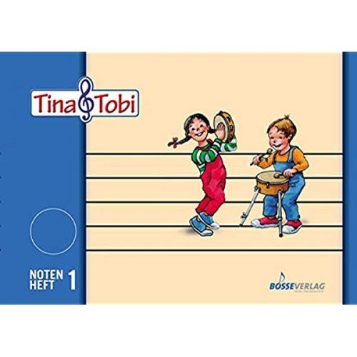 Notni zvezek Tina & Tobi A4
