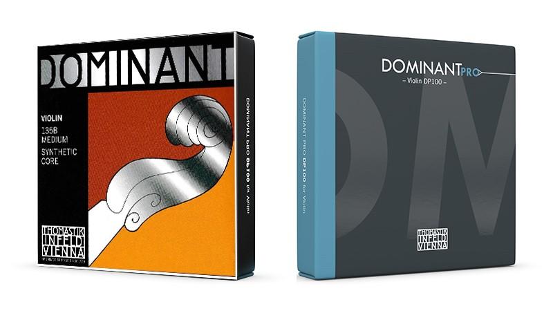 Strune za violino Dominant in Dominant Pro