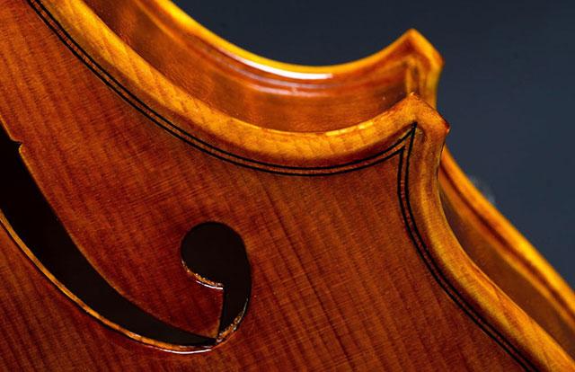 Okrasni rob violine