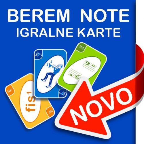 Igralne karte Berem note