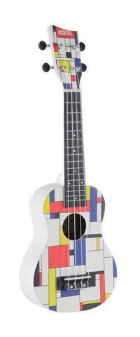 Sopranski ukulele Square White 1 Gewa