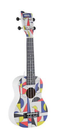 Sopranski ukulele Square White 0 Gewa