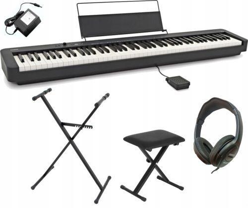 Klaviaturski set: električna klaviatura CDP-S100BK Casio s stojalom, stolom in slušalkami
