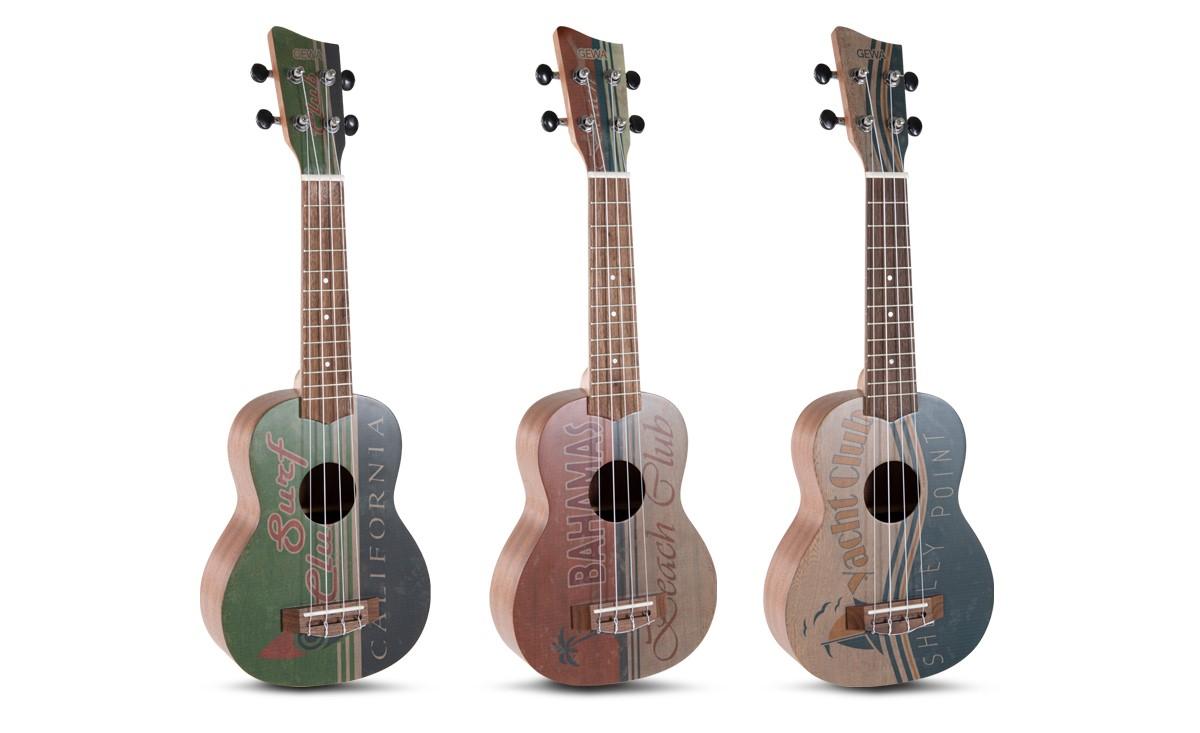 Trije novi modeli ukulel