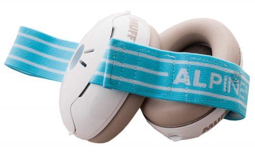 Glušniki za otroke Muffy Baby Blue Alpine