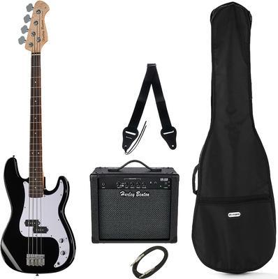Kitarski set: električna bas kitara HBP120 Harley Benton