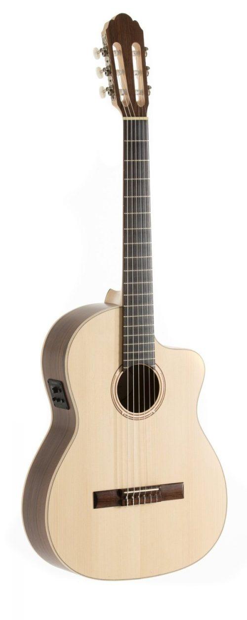 Elektro-akustična klasična kitara Pro Natura Silver Samba Gewa
