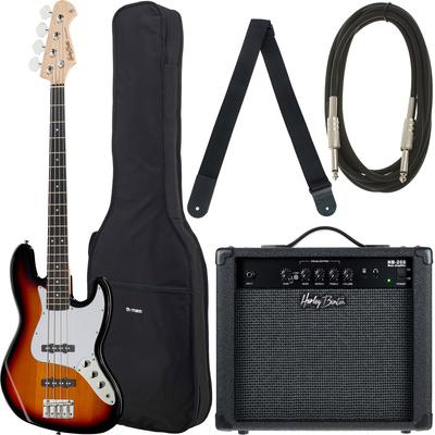 Kitarski set: električna bas kitara JB22 Harley Benton